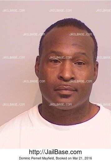 DOMINIC PERNELL MAYFIELD mugshot picture