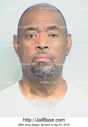 WILLIE AMOS MAGBY mugshot picture