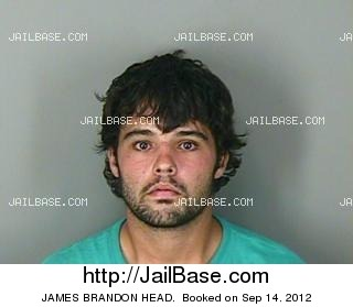 JAMES BRANDON HEAD mugshot picture