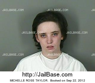 MICHELLE ROSE TAYLOR mugshot picture