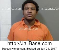Marcus Henderson mugshot picture