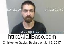 Christopher Gaylor mugshot picture