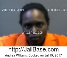 Andrea Williams mugshot picture