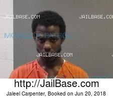Jaleel Carpenter mugshot picture