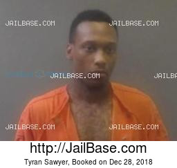 tyran sawyer mug shot image