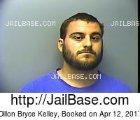 DILLON BRYCE KELLEY mugshot picture