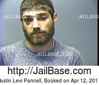 JUSTIN LEVI PANNELL mugshot picture