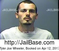 TYLER JOE WHEELER mugshot picture