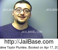 ANDREW TAYLOR PLUMLEE mugshot picture
