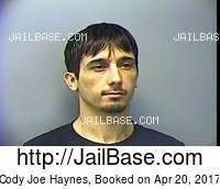 CODY JOE HAYNES mugshot picture