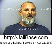 JAMES LEE BALLARD mugshot picture