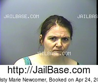 CHRISTY MARIE NEWCOMER mugshot picture