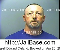 RUSSELL EDWARD CLELAND mugshot picture