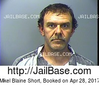 MIKEL BLAINE SHORT mugshot picture