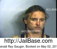 DONALD RAY GAUGER mugshot picture