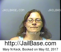 MARY N KECK mugshot picture