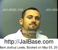 WILLIAM JOSHUA LEWIS mugshot picture