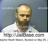 CHRISTOPHER HEATH NELSON mugshot picture