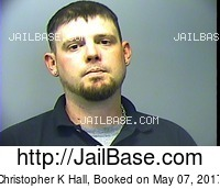 CHRISTOPHER K HALL mugshot picture