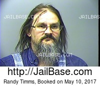 RANDY TIMMS mugshot picture