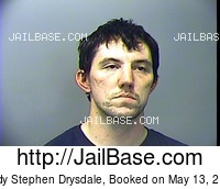 CODY STEPHEN DRYSDALE mugshot picture