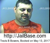 TRAVIS B BOWERS mugshot picture