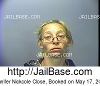 JENNIFER NICKCOLE CLOSE mugshot picture