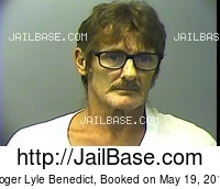 ROGER LYLE BENEDICT mugshot picture