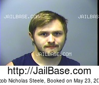 JACOB NICHOLAS STEELE mugshot picture
