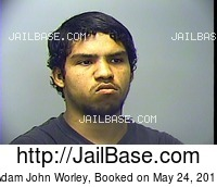 ADAM JOHN WORLEY mugshot picture