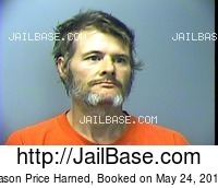 JASON PRICE HARNED mugshot picture
