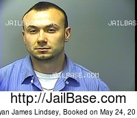 RYAN JAMES LINDSEY mugshot picture
