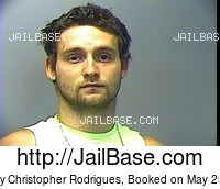 ANTHONY CHRISTOPHER RODRIGUES mugshot picture