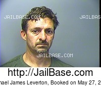 MICHAEL JAMES LEVERTON mugshot picture