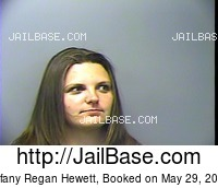 TIFFANY REGAN HEWETT mugshot picture