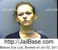 BARBARA SUE LUTZ mugshot picture