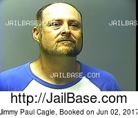 JIMMY PAUL CAGLE mugshot picture