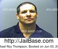 MICHAEL ROY THOMPSON mugshot picture