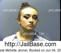 NICOLE MICHELLE JENNER mugshot picture