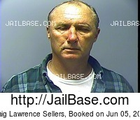 CRAIG LAWRENCE SELLERS mugshot picture