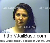 LACEY GRACE BIESIOT mugshot picture