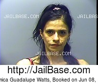 VERONICA GUADALUPE WATTS mugshot picture