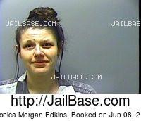 VERONICA MORGAN EDKINS mugshot picture