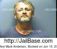 JEFFERY MACK ANDERSON mugshot picture