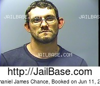 NATHANIEL JAMES CHANCE mugshot picture