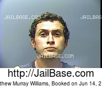 MATTHEW MURRAY WILLIAMS mugshot picture