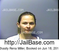 CHASITY RENA MILLER mugshot picture