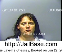 EDEE LAVERNE CHESNEY mugshot picture