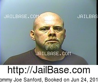 TOMMY JOE SANFORD mugshot picture