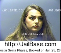 KEIRSTIN SEIRRA PHARES mugshot picture